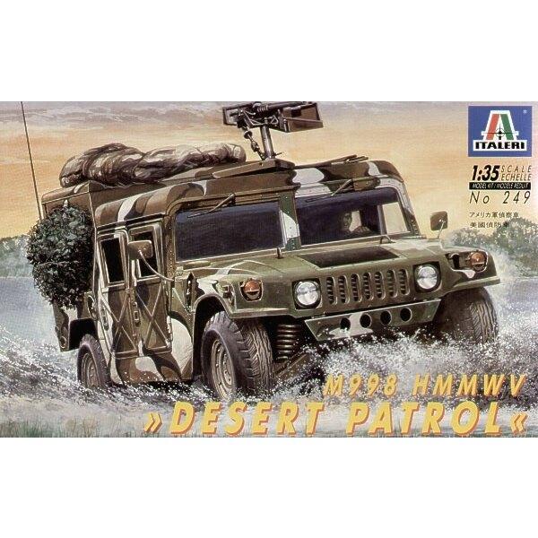 US Hummer Desert Patrol