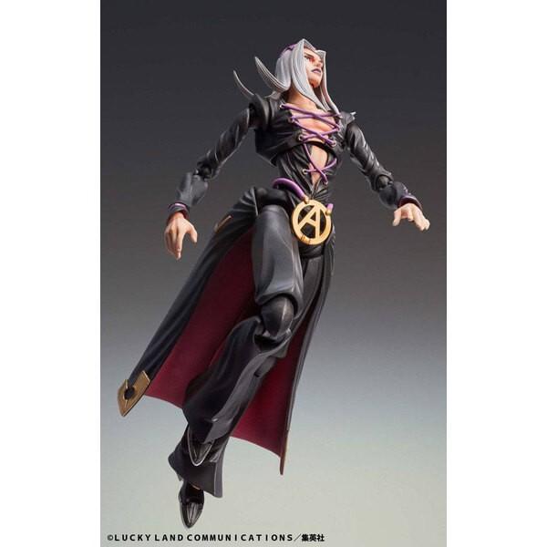 JoJo's Bizarre Adventure figurilla Super Action Chozokado (Leone Abbacchio) 16 cm