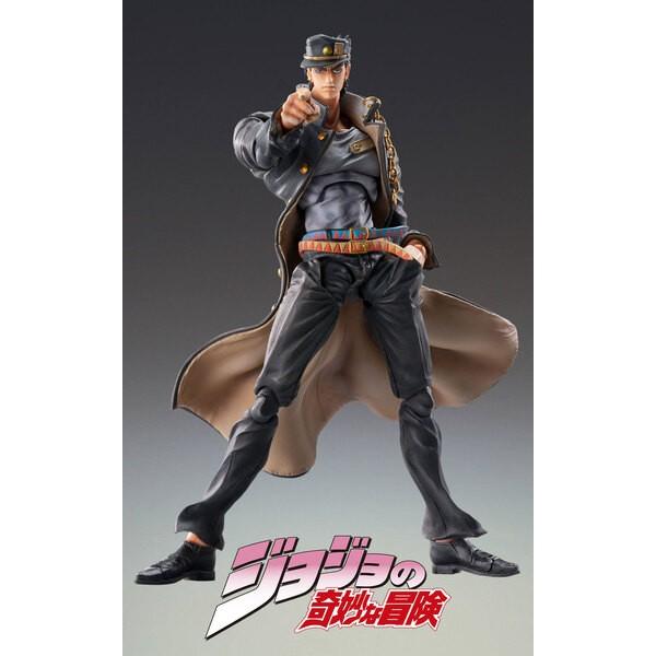 La figura de JoJo's Bizarre Adventure Super Action Chozokado (Jotaro Kujo Ver.1.5) 16 cm
