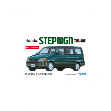 Maqueta Fujimi Honda Stepwgn G Tipo 1996 2wd-4wd 1/24...