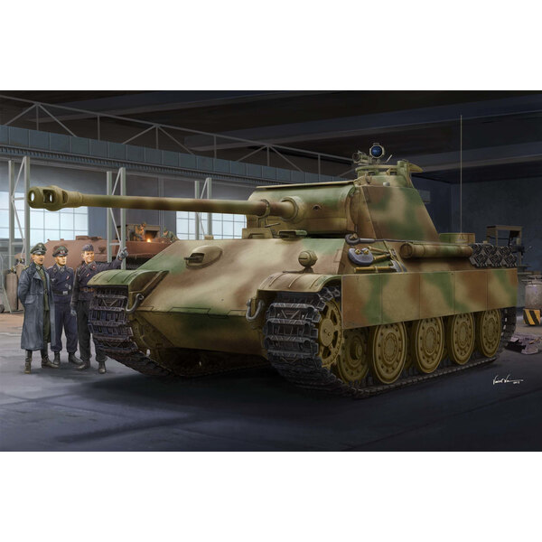 German Panther G - Versión tardía