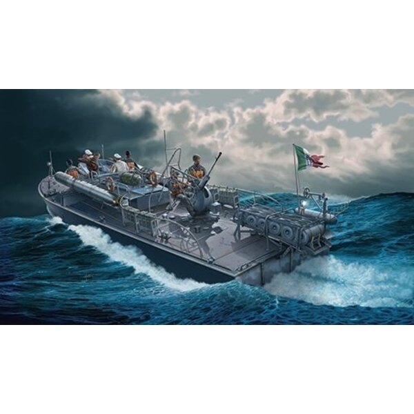 MAS 568 4a serie Italian fast patrol boat. Crew figures are available in IT5611. Since First World War the Italian Regia Marina