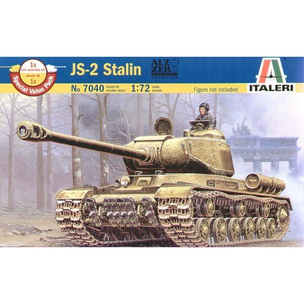JS-2 Stalin (fast assembly or normal assembly option)