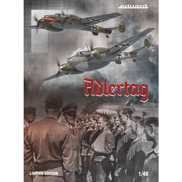 MESSERSCHMITT Bf110 C/D ADLERTAG, edición limitada 1/48