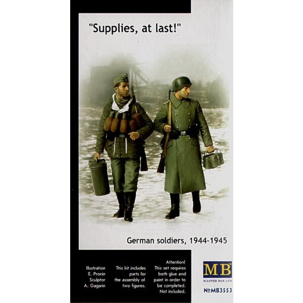 Supplies at last! German Soldiers 1944-45