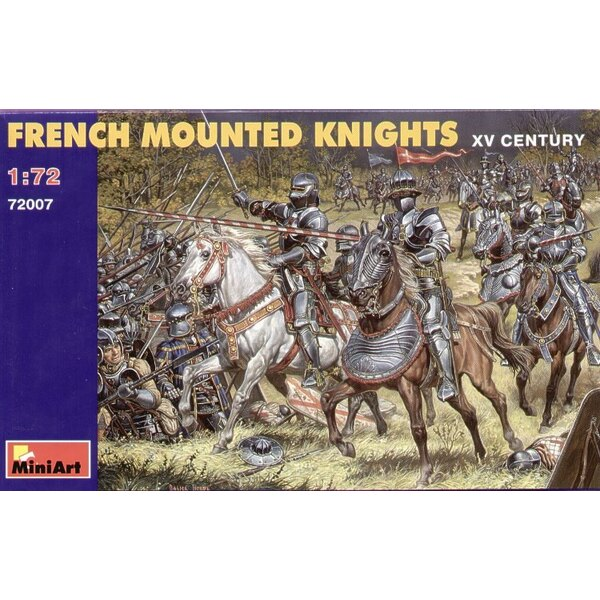 French mounted Knights XV Century