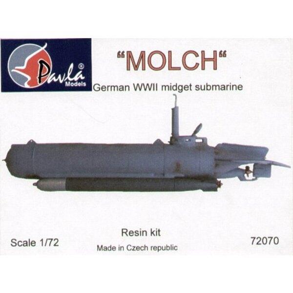 MOLCH German WWII midget submarine (submarines)