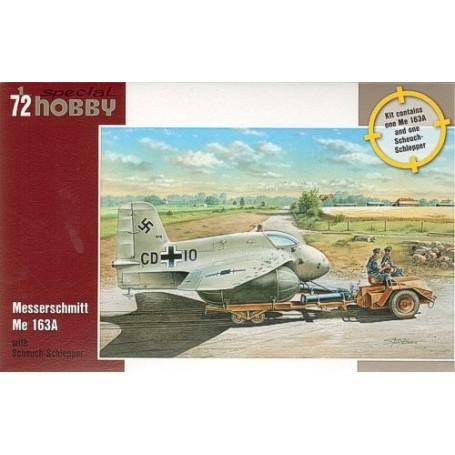 Messerschmitt Me 163A with Scheuch-Schlepper