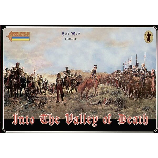 Into The Valley Of Death Inc new set of British Light Brigade and sets 36 40 and 50