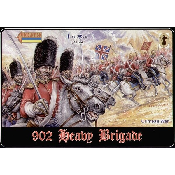 Heavy Brigade. Crimean war. In set 023 and 030 plus 2 new sets. 1 mounted. 1 mounted/dismounted