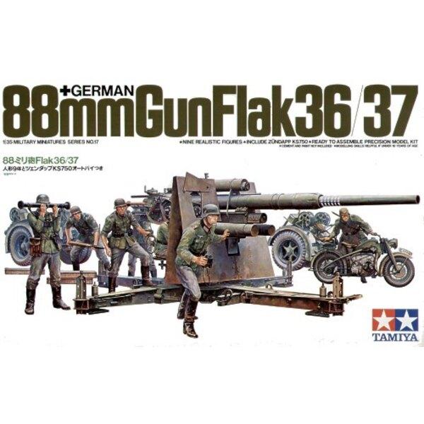 88 mm 36/37 Flak / equipo / MB