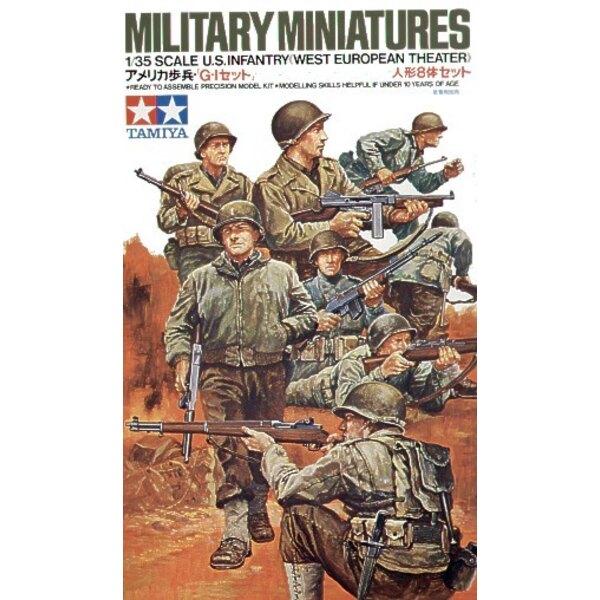 8 infantería de EE.UU. en Europa Occidental