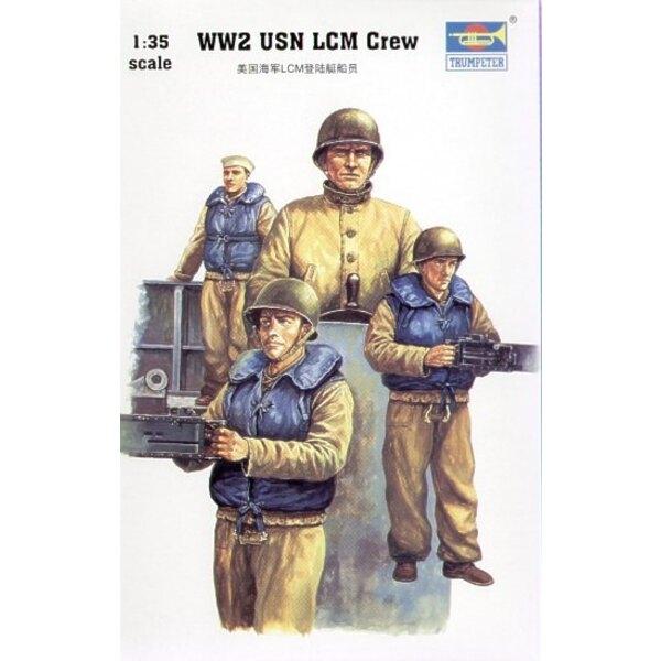 LCM III WWII USN Crew