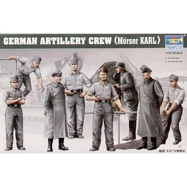 Morser Karl Crew (8 x Figures)