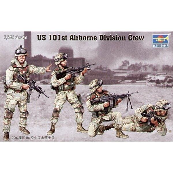 US 101st Airborne Div Crew (4 figures)