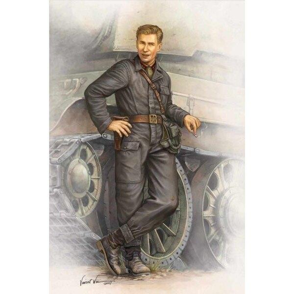WWII Soviet Army 1942 Tank Crew Figure