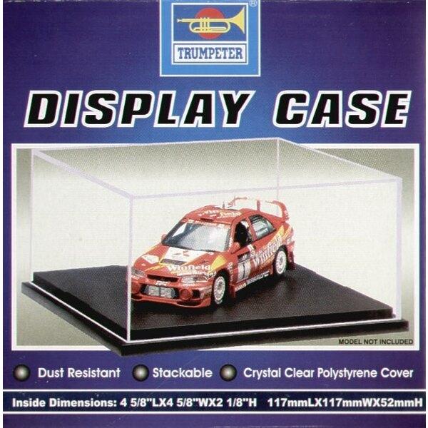 Display case. 117mmW x 117mmL x 52mmH
