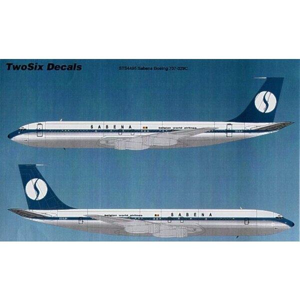 Boeing 707-329C SABENA World Airlines OO-SJH/L/M/N/O