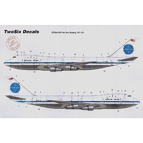 Airbus A300B4 PAN AM Billboard 10 Registrations N202PA etc