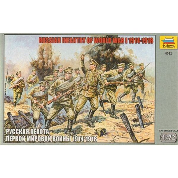 Russian Infantry WWI