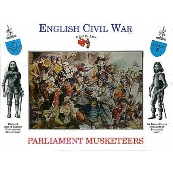 Parliament Musketeers 16 figures