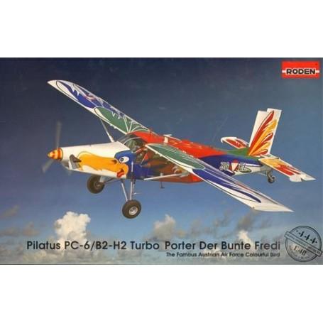 Pilatus PC-6/B1-H2 Der Bunte Fredi