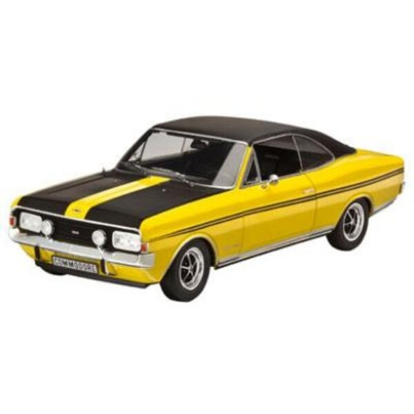 Opel Commodore Yellow/Black 1:18