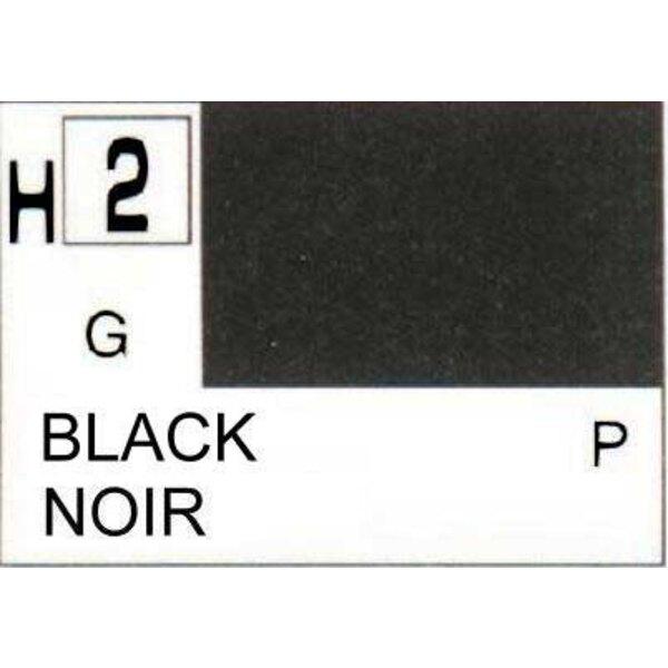 H002 Negro brillante