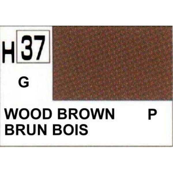 H037 Marrón madera brillante