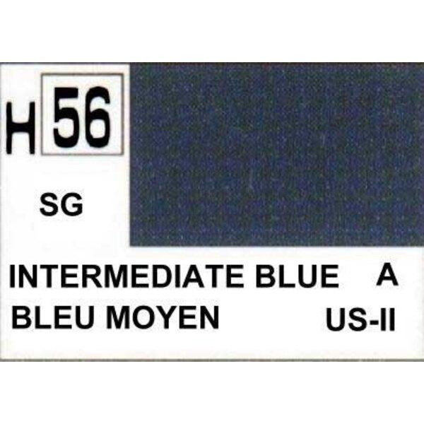 H056 Azul intermedio mate