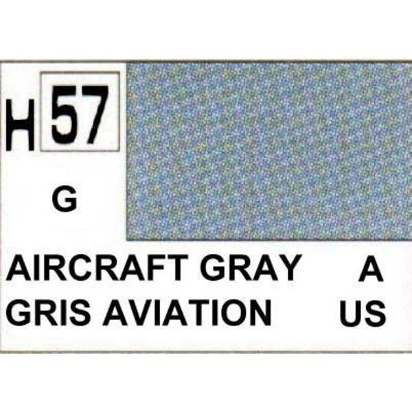 H057 Gris aviones Brillante