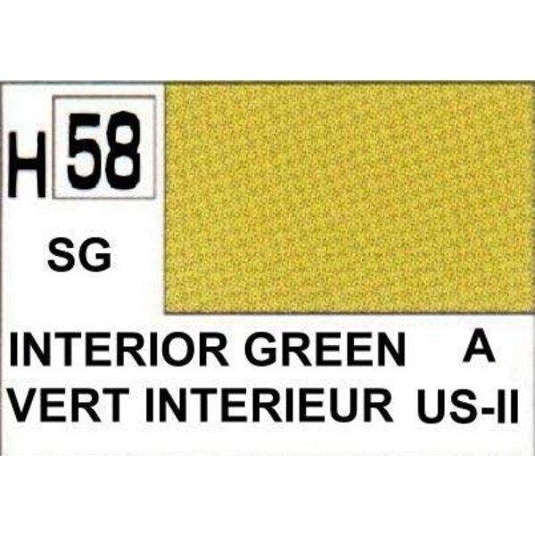 H058 Verde interior mate