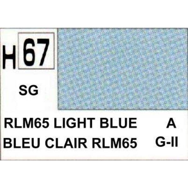 H067 Azul claro mate