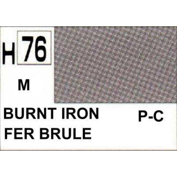 hierro quemado