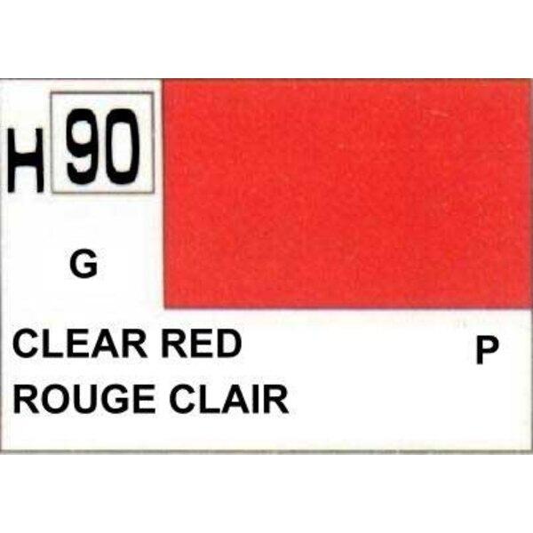 H090 Rojo transparente