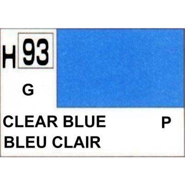H093 Azul Transparente