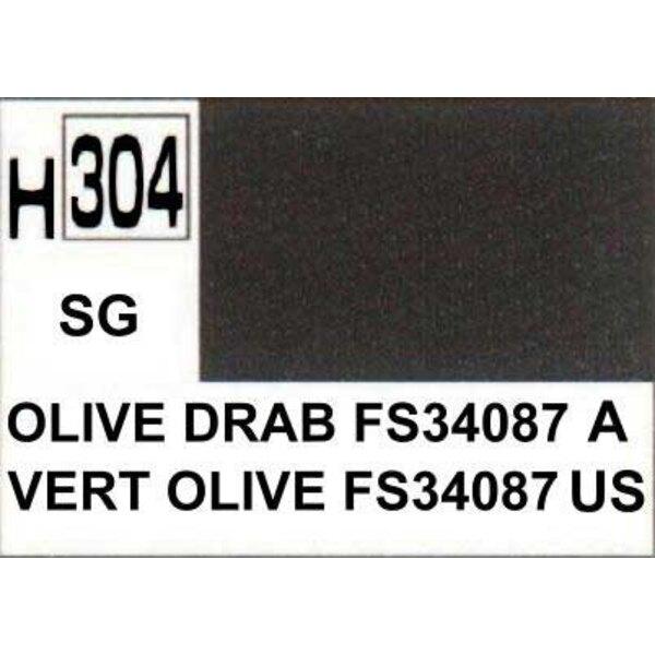 H304 Verde oliva FS34087 mate