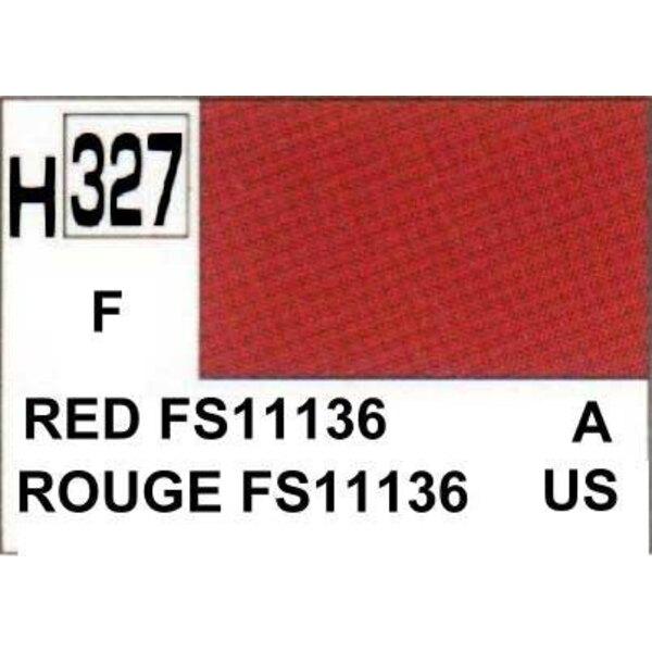 H327 Rojo FS11136