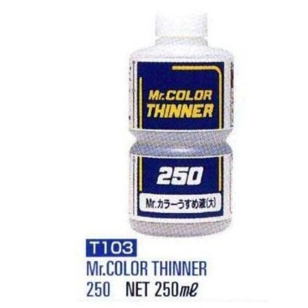 Thinner 250 ml (8 floz) Enamel