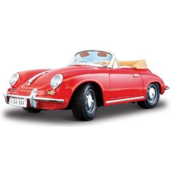 Porsche 356B Cabrio 1961 1:24