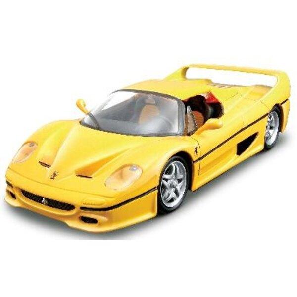 Ferrari F50 Yellow Red Kit 1:24
