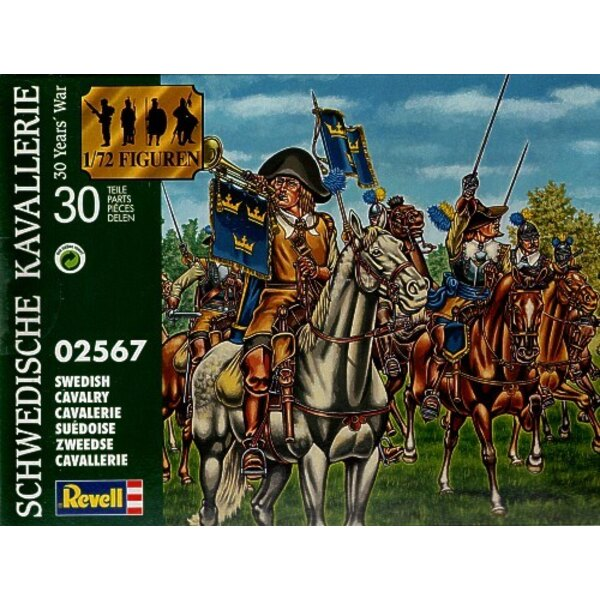 Swedish Cavalry. Thirty Years War. (These have been produced by Revell for Waterloo1815 Italy)