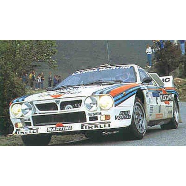 Lancia 037 1984 Tour De Corsa Rally Winner′