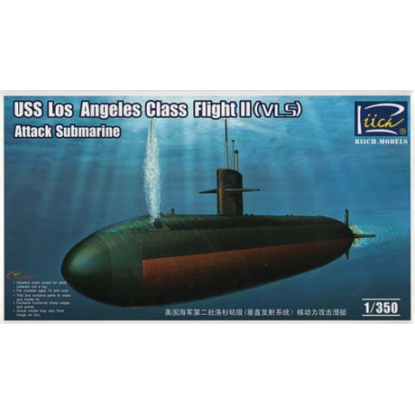 USS Los Angeles Class Flight II (VLS) Attack Submarine