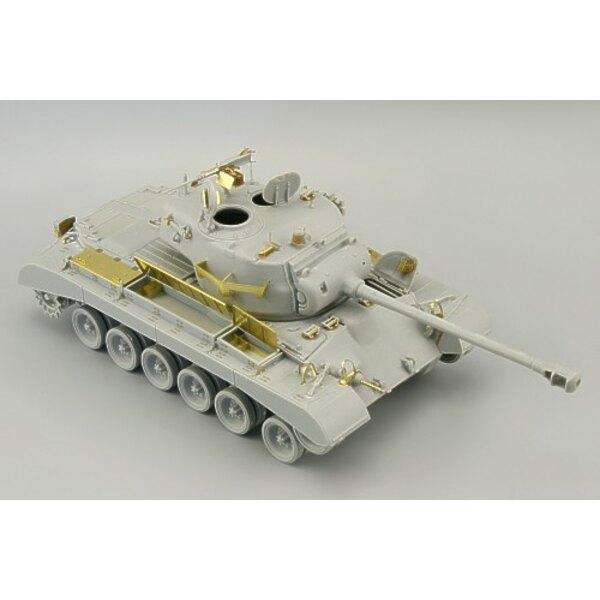 M26 (diseñado para ser ensamblado con maquetas de Hobby Boss)