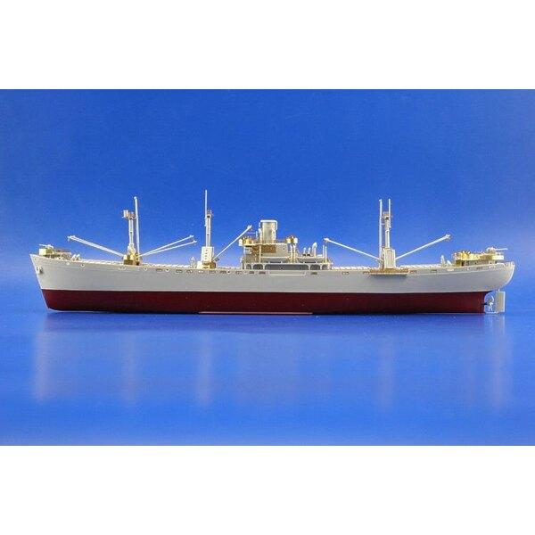 Liberty Ship (diseñado para ser ensamblado con maquetas de Trumpeter TU05301)