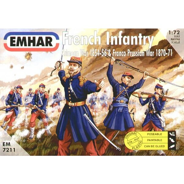 French Infantry Crimean & Franco Prussian Wars