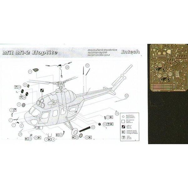 Mil Mi-2 (diseñado para ser ensamblado con maquetas de Okit and Intech)