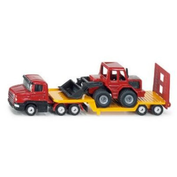 Low loader with Front Loader 1:87