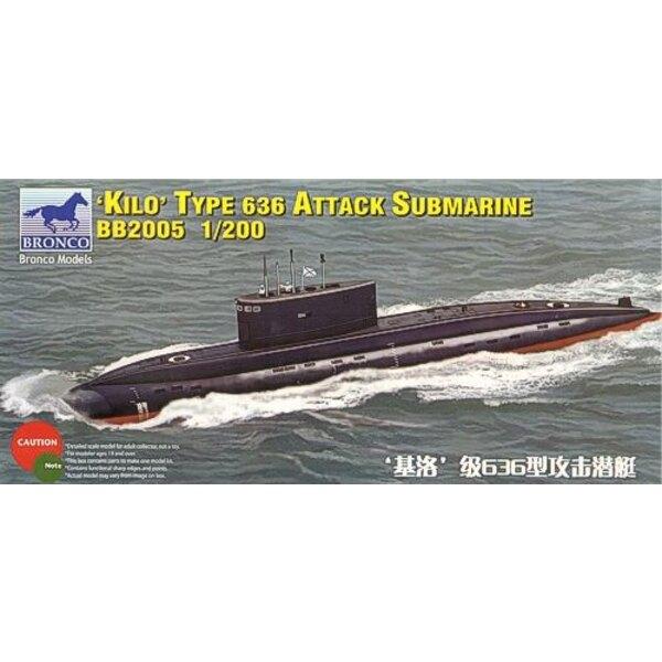 Russian Kilo Class Type 636 Attack Submarine